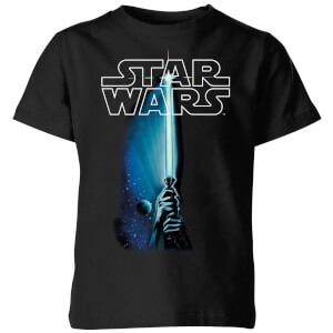 Camiseta Star Wars Sable de Luz - Niño - Negro