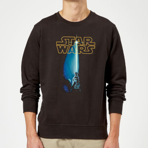 Star Wars Lightsaber Sweatshirt - Black
