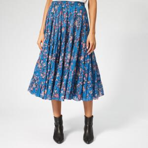 Isabel Marant Étoile Women's Elfa Skirt - Blue