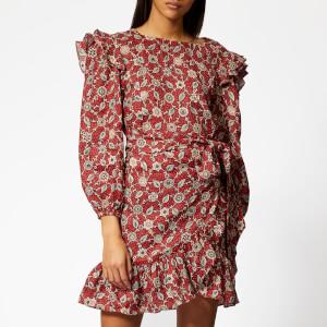 Isabel Marant Étoile Women's Telicia Dress - Rust