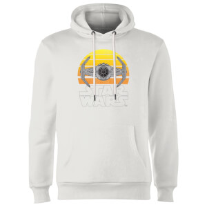 Star Wars Classic Star Wars Sunset Tie Hoodie - Weiß