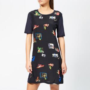 PS Paul Smith Women's Scrapbook T-Shirt Dress - Black