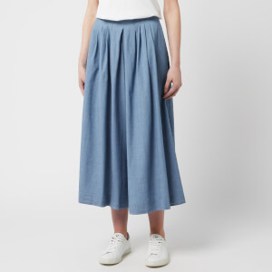 PS Paul Smith Women's Chambray Culottes - Blue