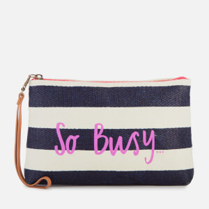 Joules Women's So Busy Clutch Bag - Navy
