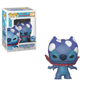 PIAB EXC Superhero Stitch Disney Figura Pop! Vinyl