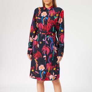 PS Paul Smith Women's Urban Jungle Shirt Dress - Multi