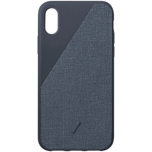 Native Union Clic Canvas iPhone Xs Case - Navy