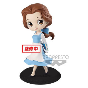 Disney – Figurine Banpresto Q Posket – La Belle et la Bête – Belle Country Style – 14 cm (Pastel Colour Version)