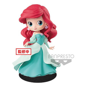 Banpresto Q Posket Disney The Little Mermaid Ariel Princess Figure 14cm (Green Dress)