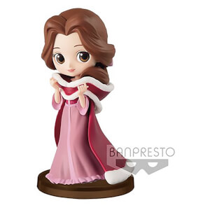 Banpresto Q Posket Petit Girls Festival Disney Beauty and the Beast Belle Figure 7cm (Winter Dress)