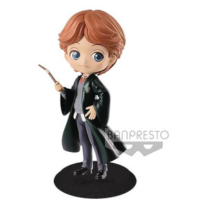 Figura Q-Posket Ron Weasley Harry Potter (14 cm) (versión color perla) - Banpresto