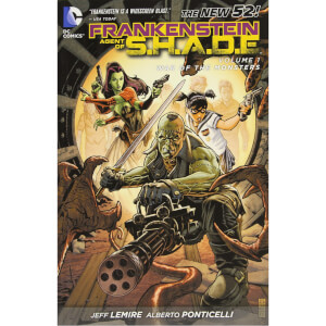 DC Comics Frankenstein Agent Of Shade Vol 01 War Monsters (Graphic Novel)
