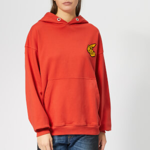 Vivienne Westwood Anglomania Women's Hooded Pullover Sweatshirt - Red