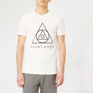 Avant L'Oeil Men's Centre Logo T-Shirt - White