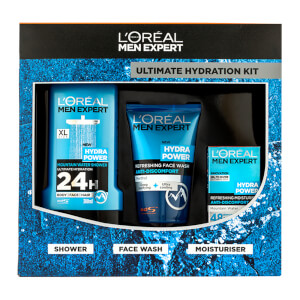 L'Oréal Paris Men Expert Ultimate Hydration Christmas Gift (Worth £16.97)