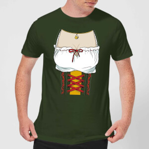 Oktoberfest Chest Men's T-Shirt - Forest Green