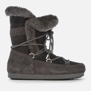 Moon Boot Women's High Shearling Boots - Anthracite