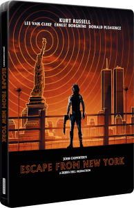 New York 1997 - Steelbook 4K Ultra HD Édition Ultra Limitée Exclusivité Zavvi