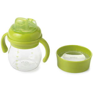 OXO Tot Transitions - Soft Spout Sippy Cup Set 175ml - Green