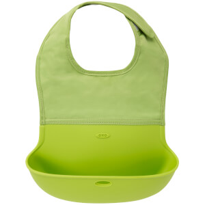OXO Tot Roll-Up Bib - Green