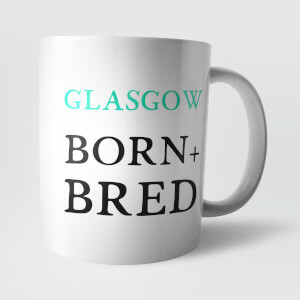 Glasgow Born and Bred Mug