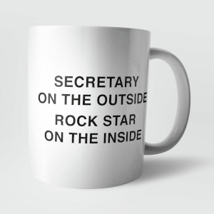 Secretary On The Outside Mug