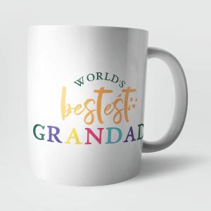 Worlds Bestest Grandad Mug