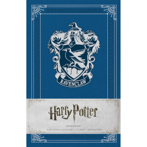 Ravenclaw Crest Hardcover Ruled Journal