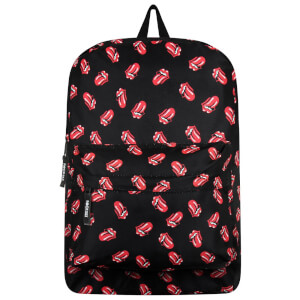 Rocksax The Rolling Stones Classic All-Over Tongue Rucksack