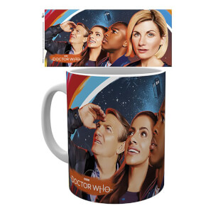 Doctor Who (Painting) Mug