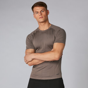 Elite Seamless T-Shirt - Gråbrun