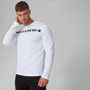 Myprotein The Original Long Sleeve T-Shirt - White
