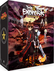 Twin Star Exorcists - Part 1 Standard Blu-Ray with Limited Edition Slipcase