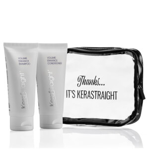 KeraStraight Volume Enhance Shampoo/Conditioner Travel Bag