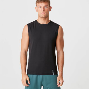 Myprotein Luxe Classic Sleeveless T-Shirt - Black