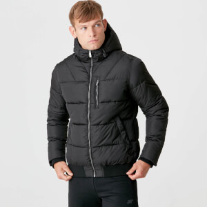 Myprotein Pro-Tech Protect Puffer Jacket - Black
