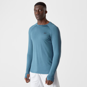 Myprotein Dry-Tech Infinity Long-Sleeve T-Shirt – Blue