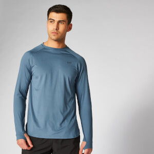 Myprotein Dry Tech Infinity Long Sleeve T-Shirt - Cadet Blue