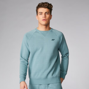 Myprotein Tru-Fit Crew Sweatshirt 2.0 - Airforce Blue