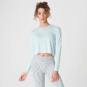 Spring Long-Sleeve T-Shirt –  Blauw