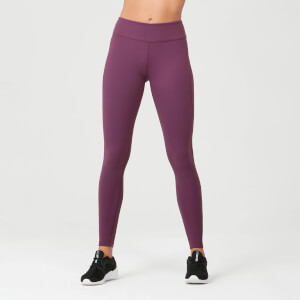 Leggings Power - Porpora scuro