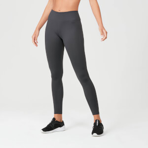 Power Leggings - Palaszürke