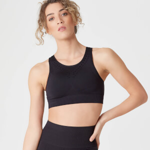 Shape Seamless Ultra Sports BH – Sort
