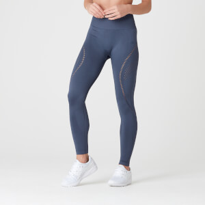 Myprotein Shape Seamless Ultra Leggings – Dark Indigo