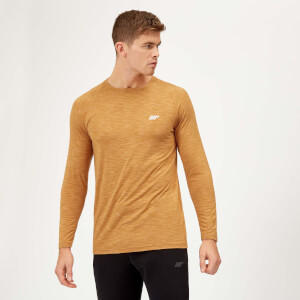 Performance Long Sleeve T-Shirt - Amber Marl