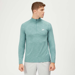 Performance 1/4 Zip Top - Airforce Blue Marl