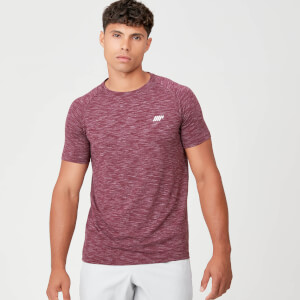 Myprotein Performance T-Shirt - Burgundy Marl