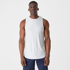 Dry-Tech Infinity Tank Top - Silver Marl