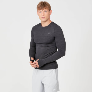 Sculpt Seamless Long Sleeve T-Shirt - Slate
