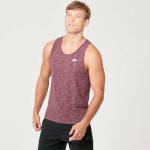 Myprotein Performance Tank Top - Burgundy Marl